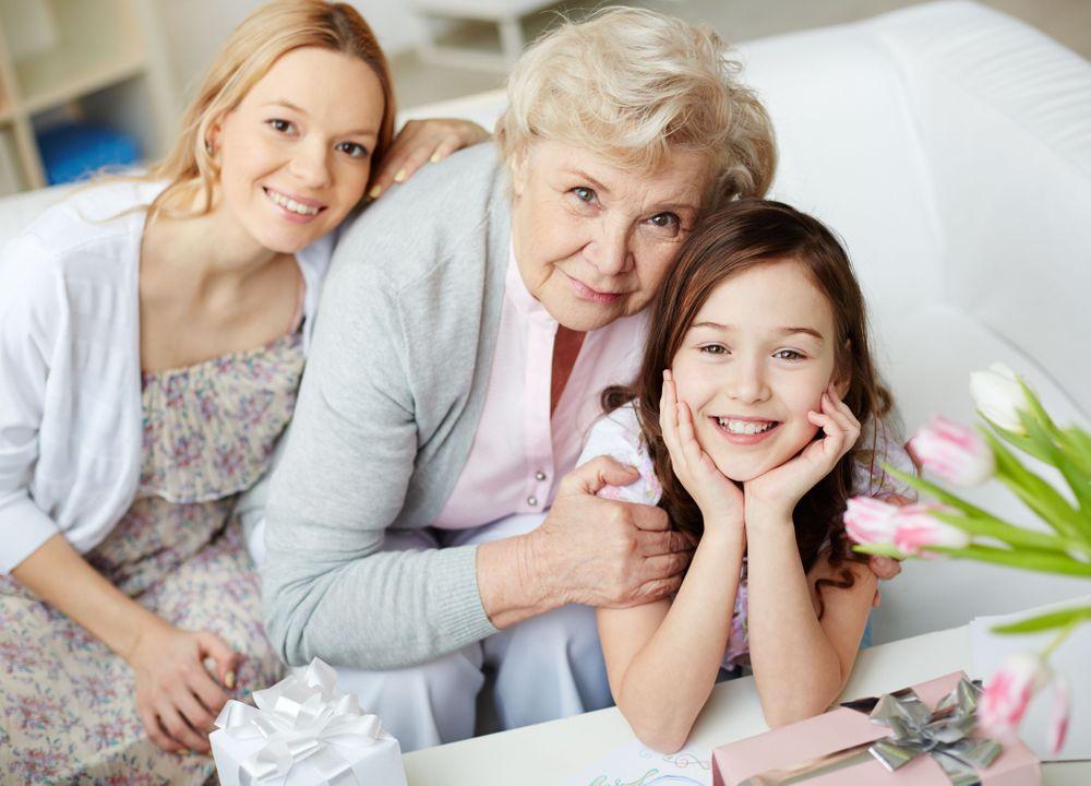 visiteurs en maison de retraite